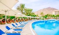 Fujairah: 1 or 2 Nights For 2 With Spa Discount and Breakfast or Half Board at 5* Fujairah Rotana Resort