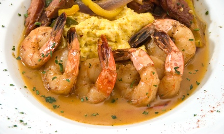 Creole Cuisine During Lunch or Dinner, or Meal for Two at DeJAVU Restaurant (Up to 50% Off)