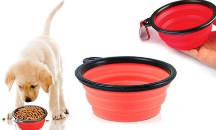 Collapsible Pet Feeding Bowl