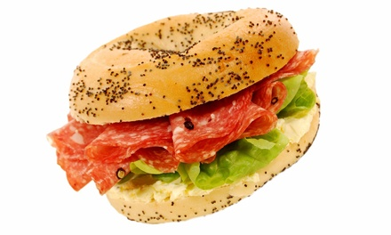 $12 for $20 Worth of Bagels and Cafe Food at Top of the Bagel Cafe