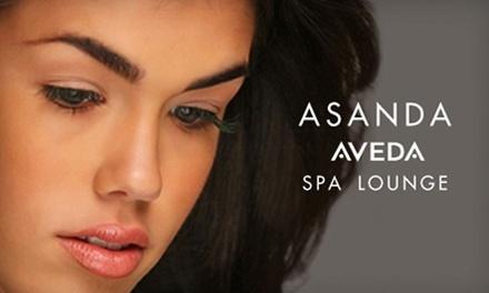 Lush, Glam, or Ultra Glam Eyelash Extensions at Asanda Aveda Spa Lounge (Up to 62% Off)