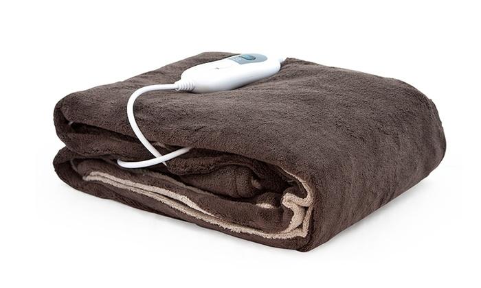 couverture chauffante lectrique groupon. Black Bedroom Furniture Sets. Home Design Ideas