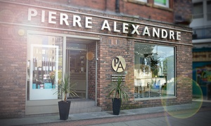 pierre alexandre: Haircut and Blow-Dry With Restyle and Kerastase Conditioning at Pierre Alexandre (58% Off)