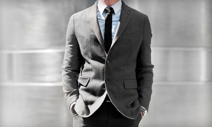 Cuffs and Collars - Cuffs & Collars: $599 for a Men's Custom Suit Package at Cuffs and Collars (Up to a $1,644 Total Value)