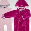 Rugged Bear Baby Sherpa Bodysuits