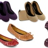 Sidekicks Women's Mesh Foldable Ballerina Flats with Carry Pouch