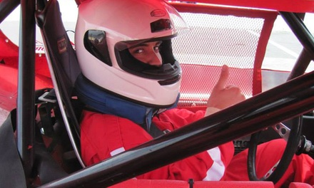 Three- or Five-Lap Racing Experience or Two-Lap Ride-Along at The Racing School (Up to 54% Off)