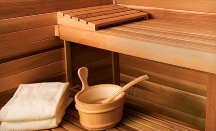 $39 for a Full-Day International-Bathhouse Visit with Drinks for Two at Archimedes Banya ($149 Value)