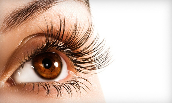 Lashes Over Saratoga - Saratoga Springs: Partial or Full Set of Eyelash Extensions with Option for Faux Mink at Lashes Over Saratoga (Up to 51% Off)