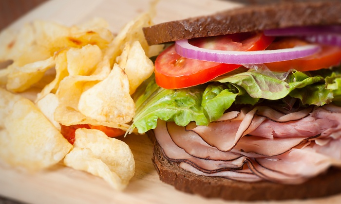 4 Girls Deli - Houston: Sandwiches and Deli Cuisine at 4 Girls Deli (Up to 45% Off). Three Options Available.