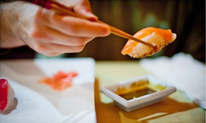 Happy Teriyaki #4 - Lacey: $10 for $20 Worth of Sushi, Teriyaki, and Sake at Happy Teriyaki #4