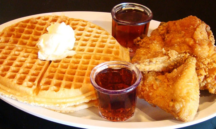 Chicago's Home of Chicken and Waffles III - Evanston: Soul Food at Chicago's Home of Chicken & Waffles III (Up to 47% Off). Three Options Available.
