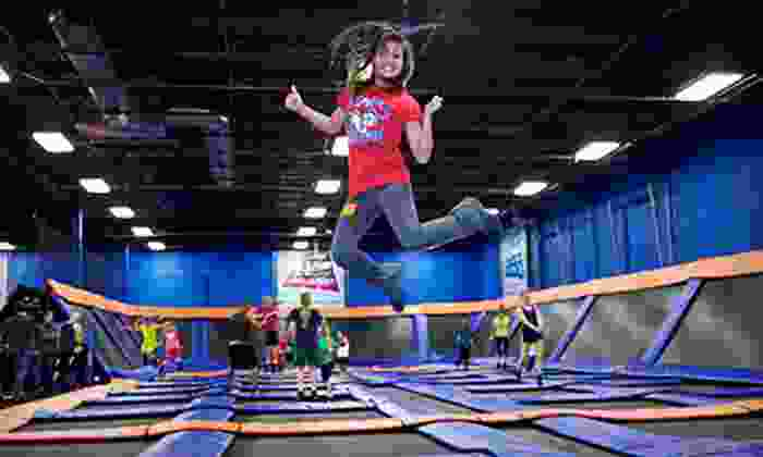 Sky Zone Canton - Sky Zone Canton: $14 for One Hour of Trampoline Time for Two at Sky Zone Canton ($28 Value)
