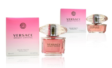 Versace Bright Crystal Eau de Toilette for Women from $32.99-$46.99