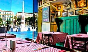 Lorenzo Trattoria: Menú para 2 o 4: entrante, ensalada, principal, lambrusco o bebida y opción a postre desde 19,90 € en Lorenzo Trattoria