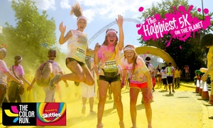 The Color Run™ Presented by Skittles: The Color Run™ Presented by Skittles: Early Bird Entry With Goody Bag & Sunglasses from £20, Multiple Locations