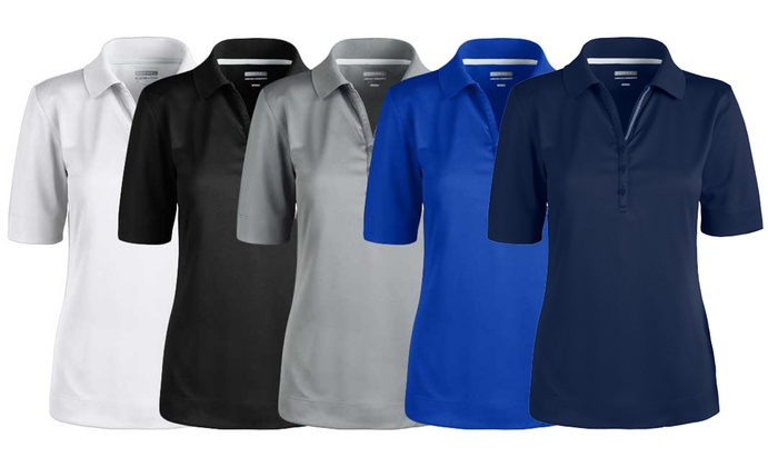 408c6f414c6 Zorrel Women s Syntrel Performance Polo. Plus Sizes Available.