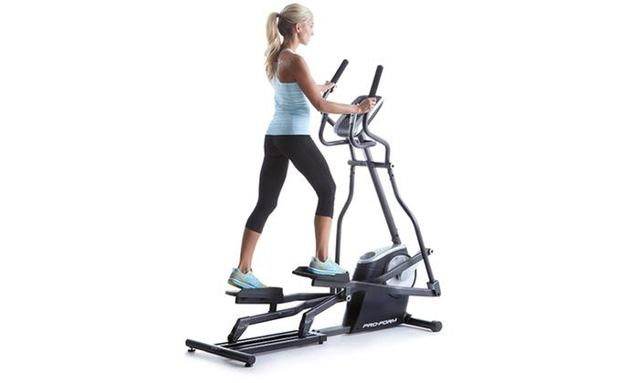 machines pro elliptical form