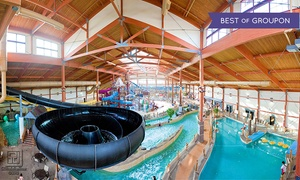 Fort Rapids Indoor Waterpark: Daily, Seasonal, or Annual Water-Park Pass for 1, 2, 4, 6, or 8 at Fort Rapids Indoor Waterpark (Up to 95% Off)