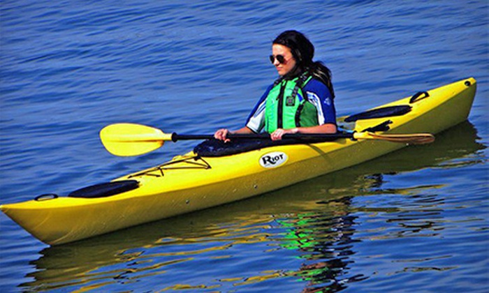 Dockside Whale Watching & Charters - Digby: Half- or Full-Day Single or Double Kayak Rental from Dockside Whale Watching & Charters (51% Off)