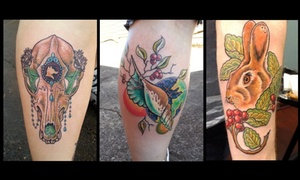 Tattoos By Bridget: One Hour of Tattooing at Bridget at 7 Zodiacs Tattoo (47% Off)