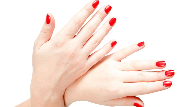 Nails By Cherie - Arden - Arcade: Two or Three Gel Manicures at Nails By Cherie (Up to 56% Off)