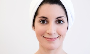 Lash Town Cleveland: Eyebrow Tint and Art or Eyelash Extensions with Option for Facial at LashTown Cleveland (Up to 52% Off)