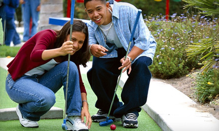 ibowl Family Fun Center - Downtown Cambridge: Round of Mini Golf, Two Hours of Bowling, or Both for Up to Six at ibowl Family Fun Center (Up to 63% Off)