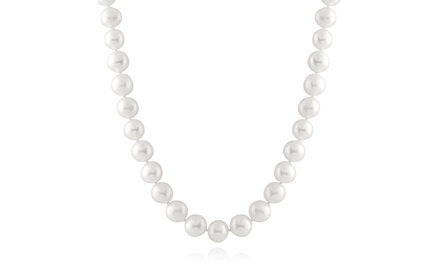 Bella Pearls 8.5-9mm Hand Knotted Pearl Strand