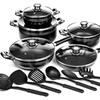 16-Piece Aluminum Nonstick Cookware Set