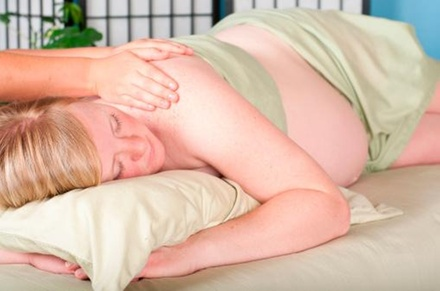 A 60-Minute Prenatal Massage at New October Sky (56% Off)