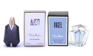 Thierry Mugler Angel or Alien Eau de Parfum Mini Splash for Women at Thierry Mugler Angel or Alien Eau de Parfum Mini Splash for Women, plus 9.0% Cash Back from Ebates.