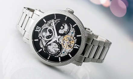 Heritor Herren-Armbanduhr Aries in der Farbe nach Wahl