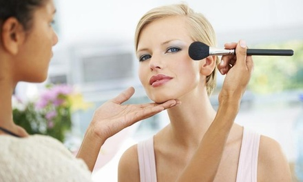 Makeup Lesson and Application from Makeup Artist Pro Group (50% Off)