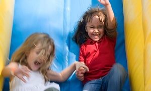 A Bounce For All Ages: Six-Hour Inflatable-Slide and Concession Rental from A Bounce For All Ages (45% Off)