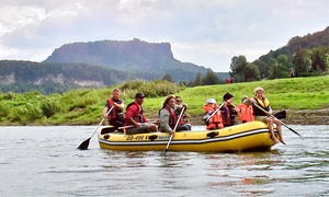 Frank Beckert: Schlauchboottour inkl. Ausrüstung und Tourguide für 1, 2 oder 4 Personen mit Frank Beckert (bis zu 57% sparen*)