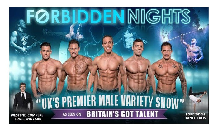 Forbidden Nights - Infernos: Forbidden Nights, 11 February–25 March at Infernos (Up to 44% Off)
