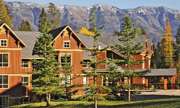 Timberline Lodges - Fernie, BC: 2-Night Stay for 4 in a Platinum Suite with $50 Spa Credit at Timberline Lodges in Fernie, BC. Combine Up to 4 Nights.
