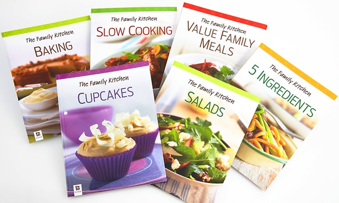 The Family Kitchen Six-Cookbook Set: $19.99 for a Family Kitchen Six-Book Cookbook Set ($77.70 List Price). Free Shipping.