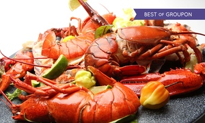LobsterLondon: £100 to Spend on Food and Drink for £49 at Lobster London, With Panoramic Views of London (51% Off)