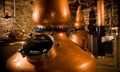 image for The Lakes Distillery Tour for Two or Four with Optional Afternoon Tea (Up to 50% Off)