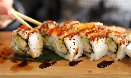 ⏰ Menu barca di sushi da 53 pezzi