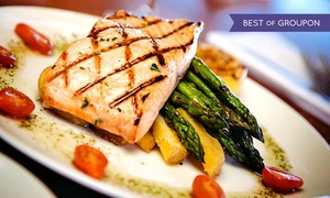 Kincaid's: $35 for $50 Worth of Steak and Seafood for Dinner, Valid Sunday–Thursday at Kincaid's