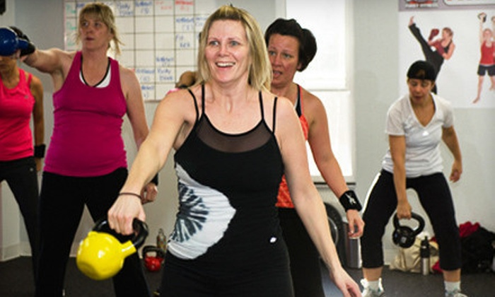Me First Fitness - Ajax: 10 Boot-Camp Classes or One Month of Unlimited Classes at Me First Fitness (Up to 75% Off)