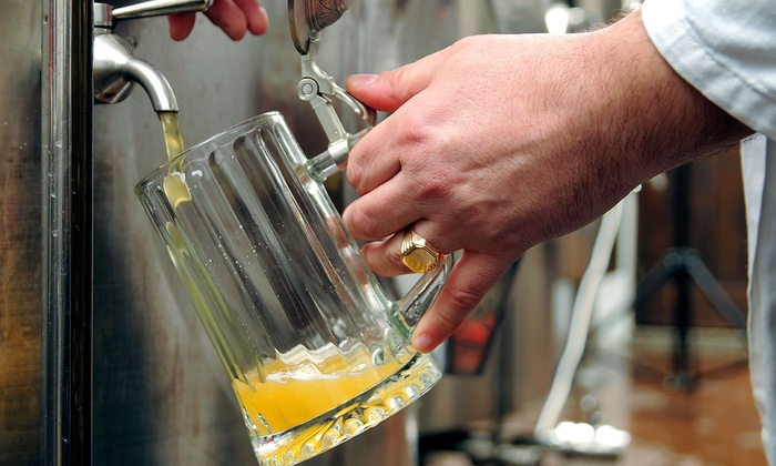 Minhas Craft Brewery - Monroe: Minhas Craft Brewery Tour for Two or Four in Monroe (50% Off)