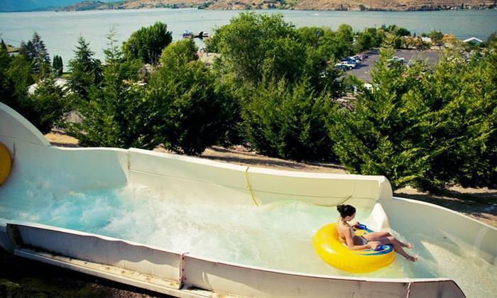 Slidewaters Lake Chelan Waterpark - Slidewaters Lake Chelan Waterpark: Visit for Two or Four, Plus 20% Off on Food and Souvenirs at Slidewaters Lake Chelan Waterpark