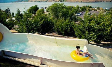 Visit for Two or Four, Plus 20% Off on Food or Souvenirs at Slidewaters Lake Chelan Waterpark