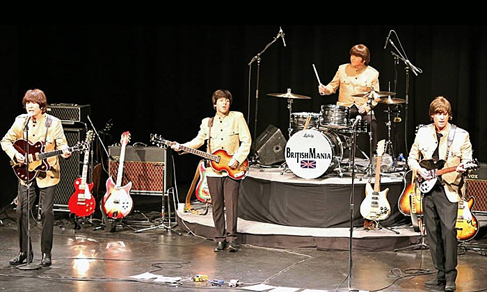 Britishmania Beatles Tribute Band  - Pease Auditorium at Eastern Michigan University: Britishmania Beatles Tribute Band on Saturday, December 5, at 8 p.m.