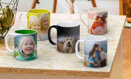 Personalised Mug in a Range of Styles: One .99, Two .99 Don't Pay up to $125.80