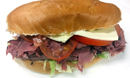 Sandwiches at American Hoagies (40% Off). Two Options Available.
